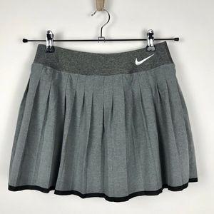 Nike Gray Dri Fit Skort Tennis Skirt Size Small